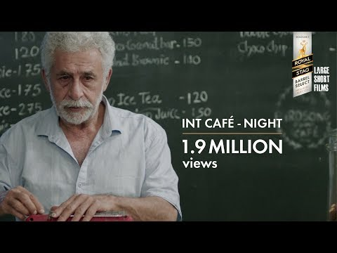 Interior Cafe Night by Adhiraj Bose short film, filmbooth, reviews - Large short film - Naseeruddin Shah Shernaz patel